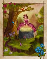 A magic well by EwaGeruzel