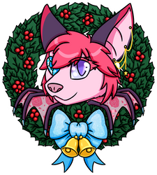 Holiday Wreath - Nyxis by PogostixWithAnX