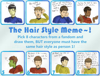 Hairstyle Meme by colorsoftuesday
