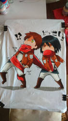 Attack on Titan t-shirt by mirodriguex95