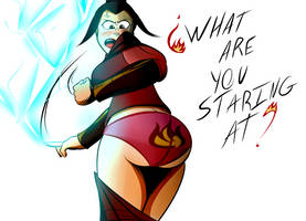 Azula pantsed by the-killer-wc