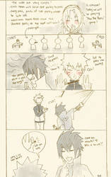 Sasuke and pocky by Ragginess