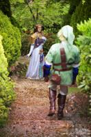 Hyrule Castle Gardens by biancabellalove