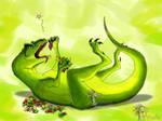 Veggiesaurus by Arvata