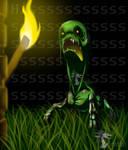 Minecraft Creeper by Arvata