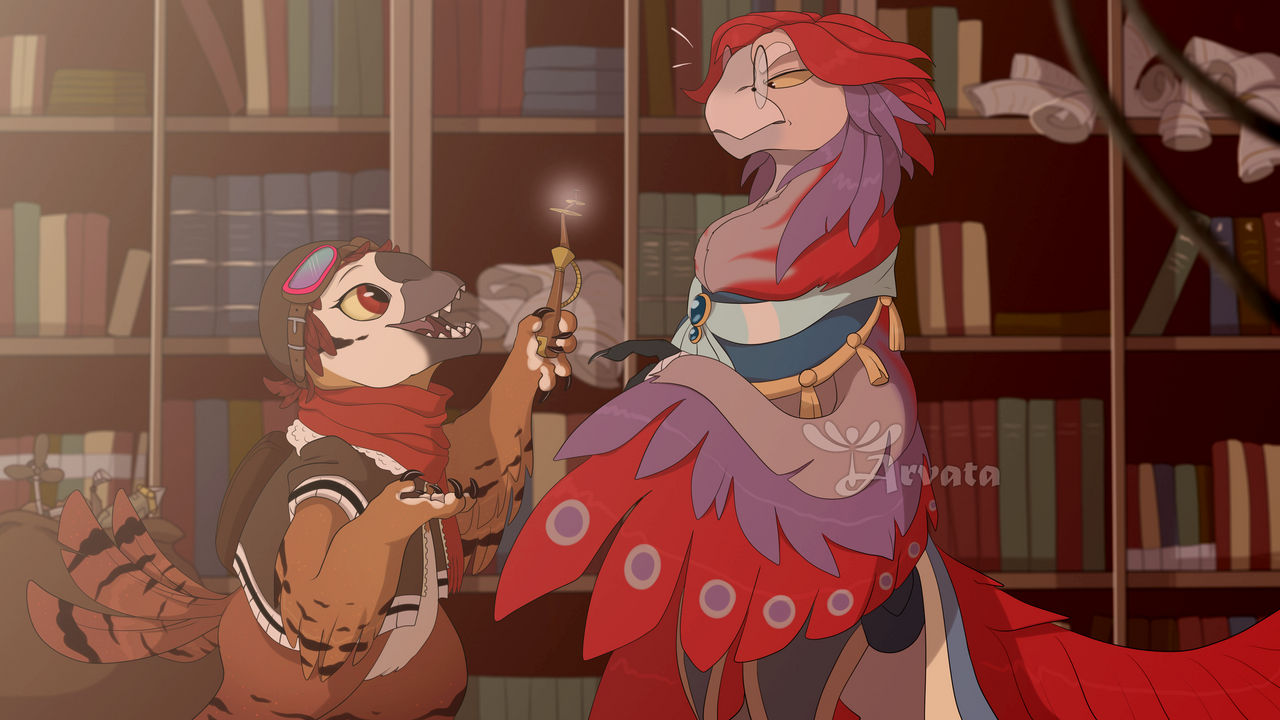 Prompt - Visiting the Vizier by Arvata