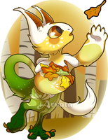 September Prompt: Autumn Leaves by Arvata