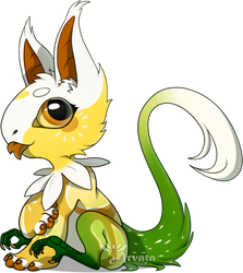 YGH: Sitting Blep - Chamomile by Arvata