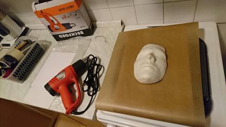 Phantom of the Opera - Mask making by stoupa111
