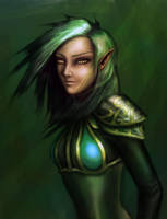 Forest Elf by Ex-zaria