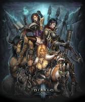 DIABLO3 Reaper Of Souls by katoyo