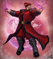 Street Fighter V bison by katoyo