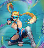 Street Fighter V MIKA by katoyo