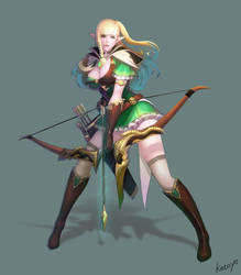 Elf Archer by katoyo
