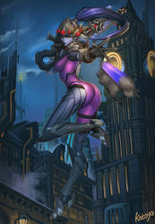 Widowmaker - Overwatch by katoyo