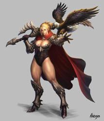 Eagle Knight by katoyo