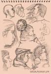 My sketchbook selections 7 by radu-jm