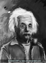 Einstein WIP by radu-jm