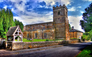 Church at Sandford St Martin by s-kmp