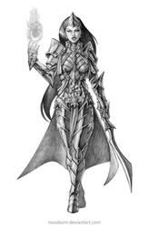 Concept Art Comission Sorcerer A by NOOSBORN