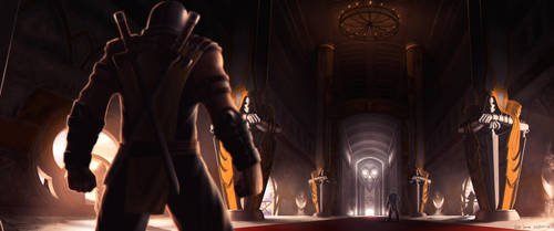 Mortal Kombat Scenary Evil Monastery by NOOSBORN