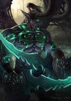 Illidan Stormrage by NOOSBORN