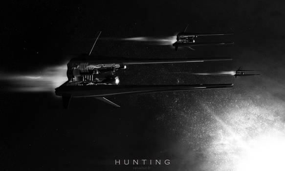 Hunting drones Ex-o7 by Vanishin