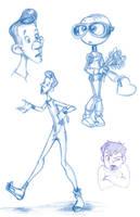 Art of B Sketches 1-31 by ArtofLaurieB
