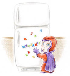 Baby Magneto by Laurie B by ArtofLaurieB