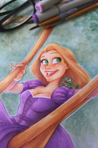 Rapunzel by ArtofLaurieB