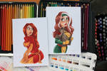Ladies of XMEN by ArtofLaurieB
