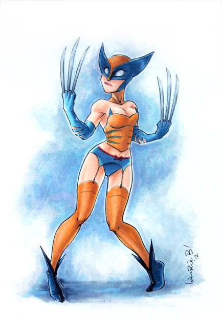 Wolverine: The Claws Are OUT! by ArtofLaurieB