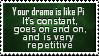 Drama Pi by SparkLum