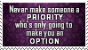 Priority Option Stamp by SparkLum