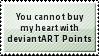 No Love Points Stamp by SparkLum