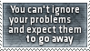 Ignoring Problems Stamp by SparkLum