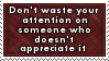 Waste of Attention Stamp by SparkLum