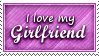 Girlfriend Stamp by SparkLum