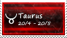 Taurus Stamp by SparkLum
