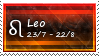 Leo Stamp by SparkLum