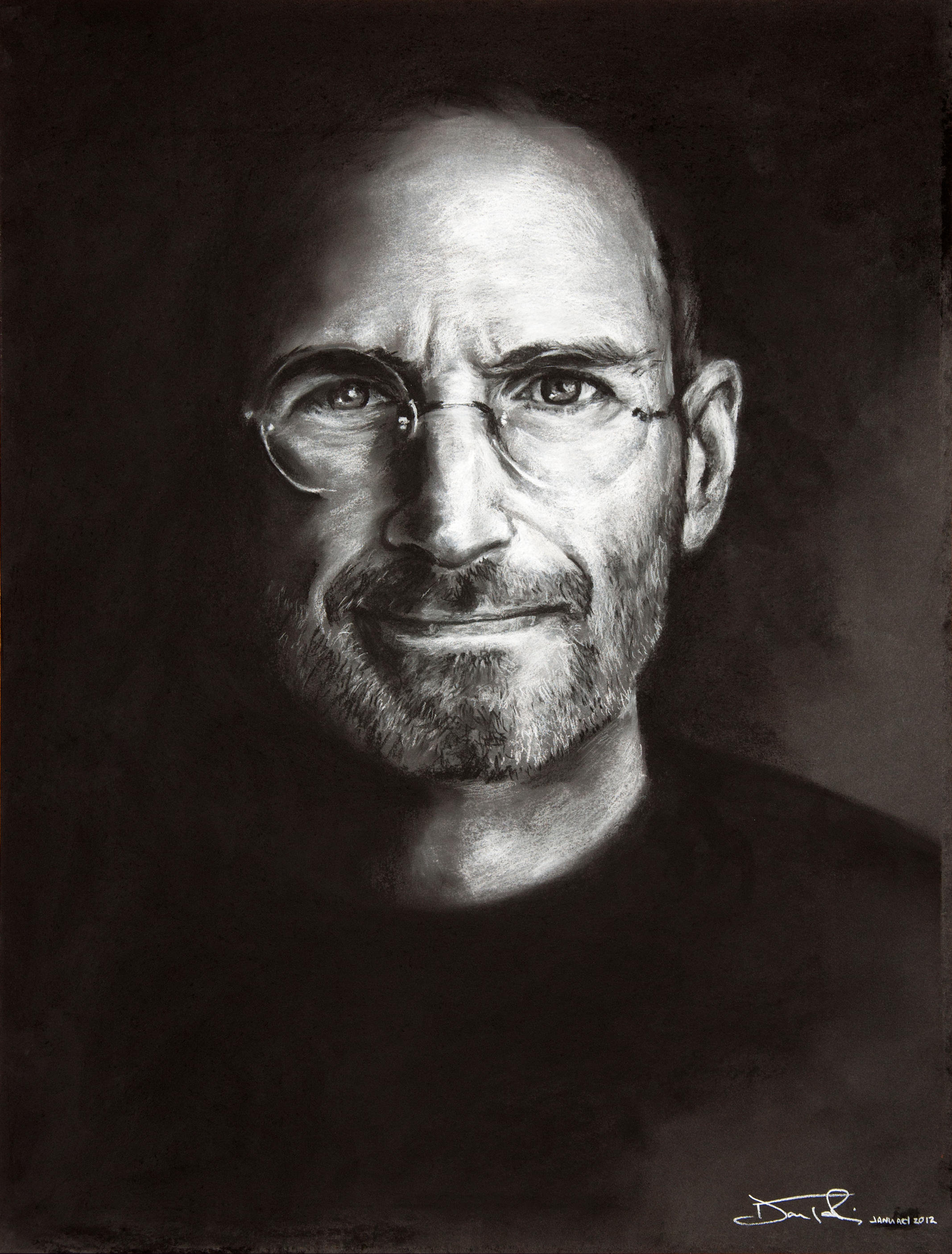 Steve Jobs by Fruksion