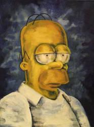 Homer Simpson by Fruksion