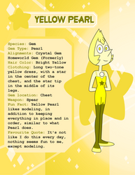 Yellow Pearl's Biography by henryleonardolopez92