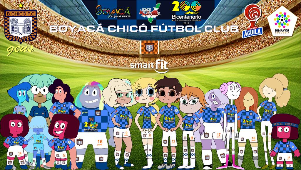 BOYACA CHICO F.C. - 2019 OUTFITS by henryleonardolopez92