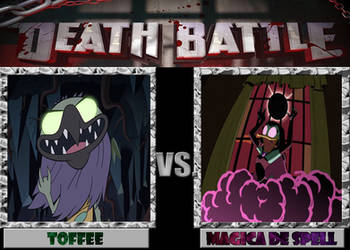 DEATH BATTLE: Toffee VS Magica by diebitch2947
