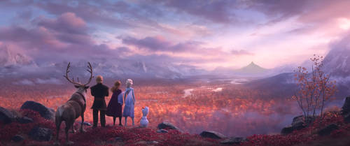 Journey to the Lonely Mountain on Frozen 2 by diebitch2947
