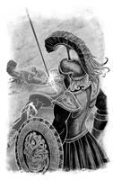 Hector s death by albertoguerra