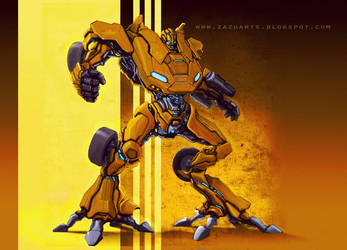 Bumble bee redesign by Zazukudap