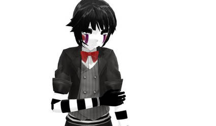 [MMD Fnaf] Puppet AU by Insanity9807