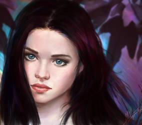 Sweet May by aynnart